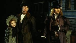 Interview with the Vampire: Tom Cruise (Lestat de Lioncourt), Kirsten Dunst (Claudia) en Brad Pitt (Louis de Pointe du Lac)