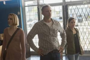Evan Rachel Wood (Eva), Callum Keith Rennie (Robert) en Ellen Page (Nell)
