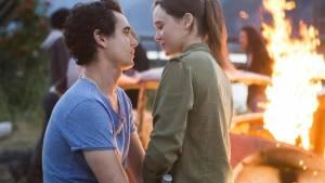 Max Minghella (Eli) en Ellen Page (Nell)