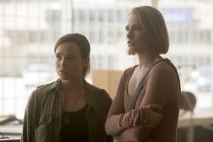 Ellen Page (Nell) en Evan Rachel Wood (Eva)