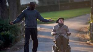 Intouchables: Omar Sy (Driss) en François Cluzet (Philippe)