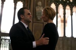 Io sono l'amore: Pippo Delbono (Tancredi Recchi) en Tilda Swinton (Emma Recchi)