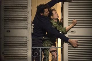 Christian Berkel en Isabelle Huppert in Elle
