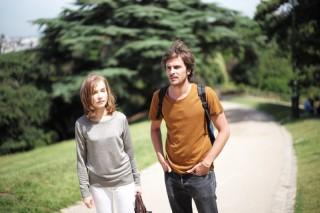 Isabelle Huppert en Roman Kolinka in L'avenir