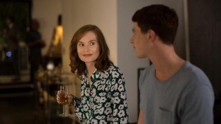 Isabelle Huppert en Finnegan Oldfield in Marvin ou la belle éducation
