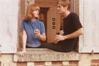 Isabelle Huppert en Yves Beneyton in La dentellière