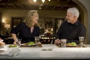 It's Complicated: Steve Martin (Adam) en Meryl Streep (Jane)