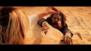 It Stains the Sands Red: Brittany Allen (Molly) en Juan Riedinger (Smalls)
