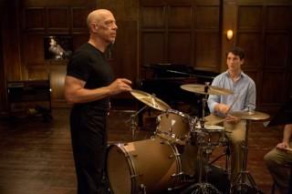 J.K. Simmons en Miles Teller in Whiplash