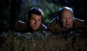 Tom Cruise (Jack Reacher) en Robert Duvall (Cash)
