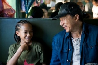 Jackie Chan en Jaden Smith in The Karate Kid