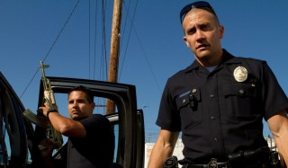 Michael Peña en Jake Gyllenhaal in End of Watch
