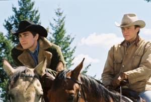 Jake Gyllenhaal en Heath Ledger in Brokeback Mountain