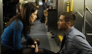 Michelle Monaghan en Jake Gyllenhaal in Source Code