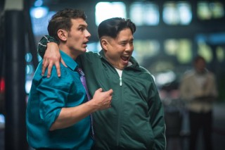 James Franco en Randall Park in The Interview
