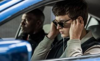 Jamie Foxx en Ansel Elgort in Baby Driver