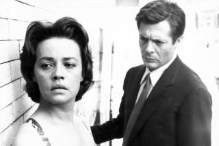 Marcello Mastroianni en Jeanne Moreau in La Notte
