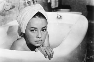 Jeanne Moreau in La Notte