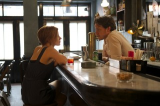 Jessica Chastain en James McAvoy in The Disappearance of Eleanor Rigby: Him & Her