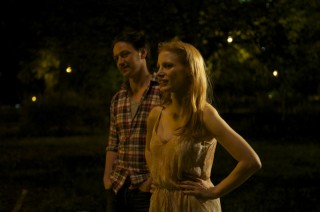 James McAvoy en Jessica Chastain in The Disappearance of Eleanor Rigby: Him & Her