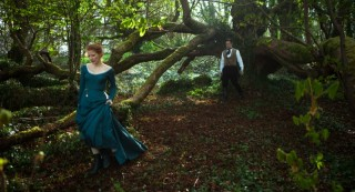 Jessica Chastain en Colin Farrell in Miss Julie