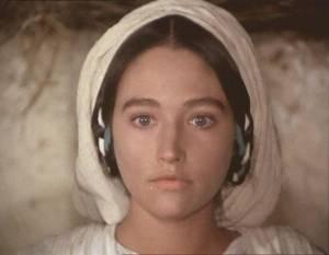 Jesus of Nazareth: Olivia Hussey (Virgin Mary)