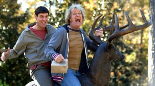Jim Carrey en Jeff Daniels in Dumb and Dumber To