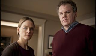 Jodie Foster en John C. Reilly in Carnage