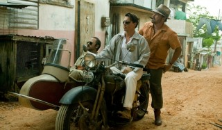 Giovanni Ribisi, Johnny Depp en Michael Rispoli in The Rum Diary