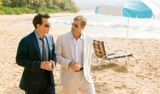 Johnny Depp en Aaron Eckhart in The Rum Diary