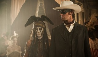 Johnny Depp en Armie Hammer in The Lone Ranger