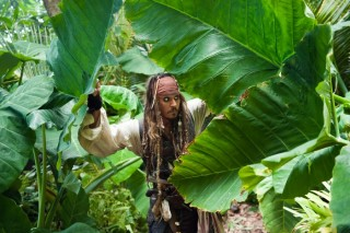 Johnny Depp in Pirates of the Caribbean: On Stranger Tides