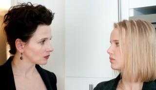 Juliette Binoche en Joanna Kulig in Elles