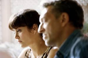 Juste la fin du monde: Marion Cotillard (Catherine) en Vincent Cassel (Antoine)