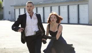 Justin Timberlake en Amanda Seyfried in In Time
