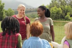 Karsten og Petra på safari filmstill