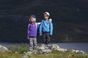 Karsten og Petra ut på tur filmstill