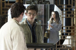 Kate Beckinsale en Callum Turner in The Only Living Boy in New York