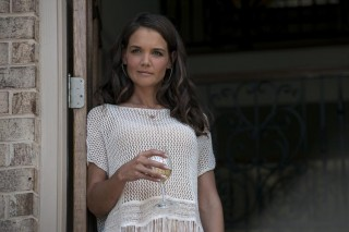Katie Holmes in Logan Lucky