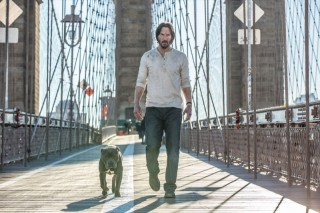 Keanu Reeves in John Wick: Chapter Two