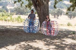 Keanu Reeves en Winona Ryder in Destination Wedding