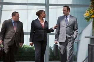 Kevin James, Queen Latifah en Vince Vaughn in The Dilemma