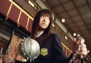 Chiaki Kuriyama als 'Go-Go Yubari'