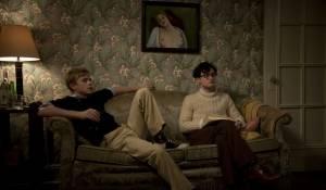 Kill Your Darlings: Dane DeHaan (Lucien Carr) en Daniel Radcliffe (Allen Ginsberg)