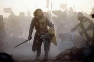 Balian of Ibelin (Orlando Bloom) strijdt voor zijn volk