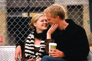 Paul Bettany en Kirsten Dunst in Wimbledon