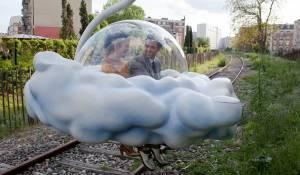 L'écume des jours: Romain Duris (Colin) en Audrey Tautou (Chloe)