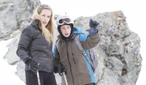 L'enfant d'en haut: Léa Seydoux (Louise) en Kacey Mottet Klein (Simon)