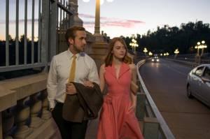 La La Land: Ryan Gosling (Sebastian) en Emma Stone (Mia)