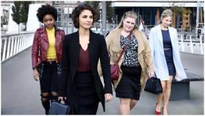 Ladies Night: Alles Voor Elkaar: Yootha Wong-Loi-Sing (Vanessa), Maryam Hassouni (Sena), Esmée van Kampen (Lina) en Sarah Chronis (Nicole)